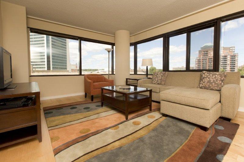 Furnished 2-Bedroom Apartment at Greyrock Pl & Main St Stamford - Image 1 - Stamford - rentals