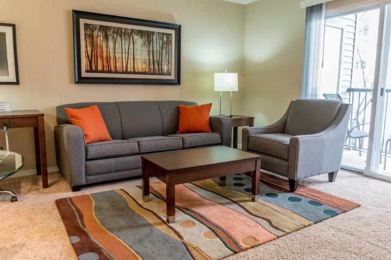 Furnished 1-Bedroom Apartment at Broad St & Greyrock Pl Stamford - Image 1 - Stamford - rentals