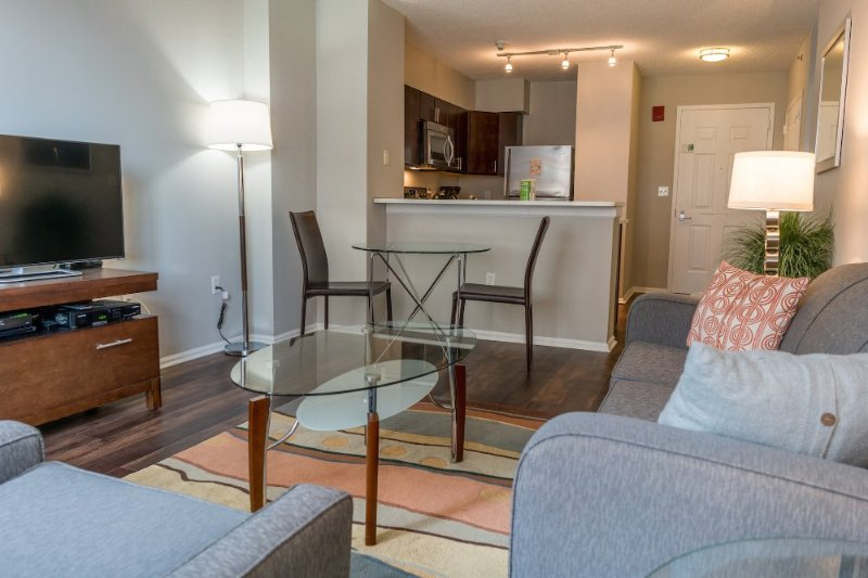 Furnished 1-Bedroom Apartment at Main St & Bank St White Plains - Image 1 - White Plains - rentals