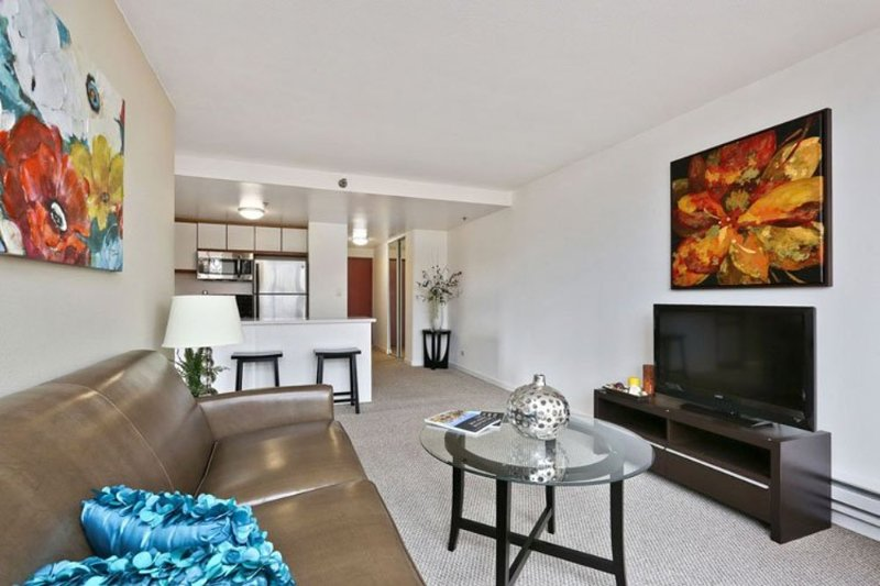 Furnished 2-Bedroom Apartment at Geary Blvd & Webster St San Francisco - Image 1 - San Francisco Bay Area - rentals