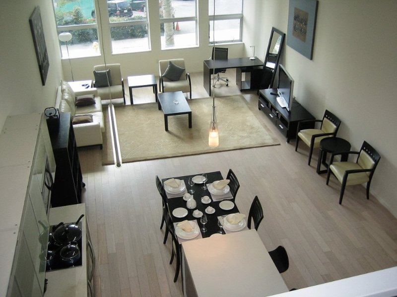 Furnished 2-Bedroom Loft at Wilshire Blvd & S Beaudry Ave Los Angeles - Image 1 - Los Angeles - rentals