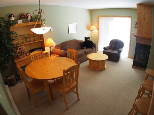 Living Dining - Crystal Forest Condos - 14 - Sun Peaks - rentals