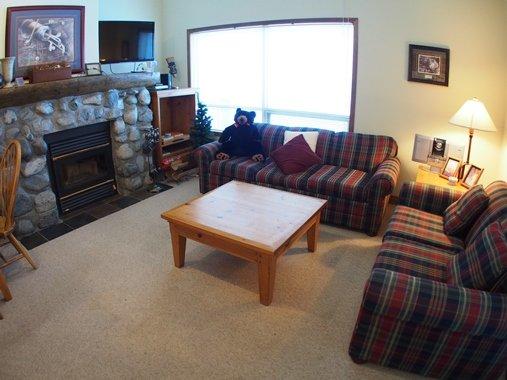 Living room - Alpine Greens Condos - 12 - Sun Peaks - rentals