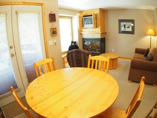 Dining - Crystal Forest Condos - 11 - Sun Peaks - rentals