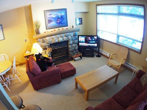 Living room - Alpine Greens Condos - 17 - Sun Peaks - rentals