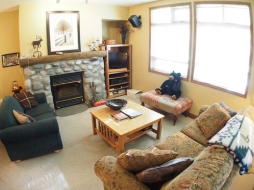 Livingroom - Alpine Greens Condos - 07 - Sun Peaks - rentals