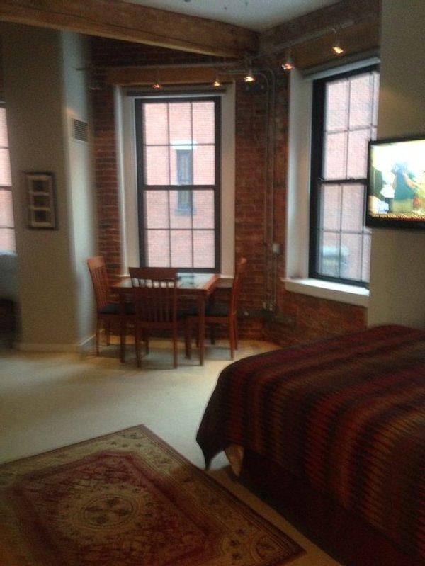 Furnished Studio Condo at Broad St & Wendell St Boston - Image 1 - Boston - rentals