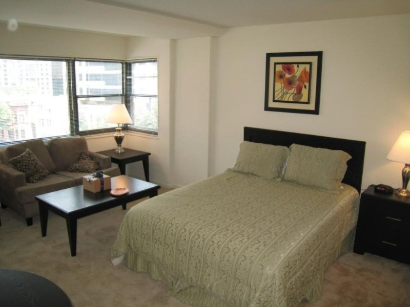 Furnished Studio Apartment at 2400 Pennsylvania Ave NW Washington - Image 1 - Rosslyn - rentals
