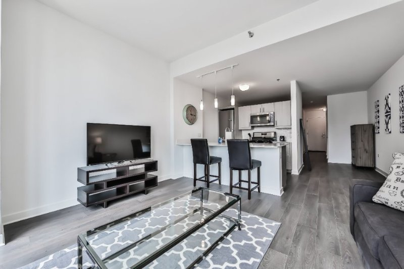 Furnished 1-Bedroom Apartment at W Randolph St & N Dearborn St Chicago - Image 1 - Chicago - rentals