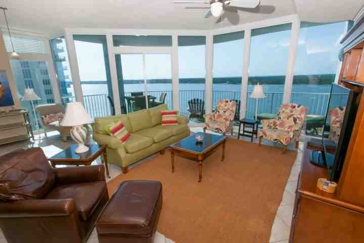 Boasting a breathtaking view, this extravagant unit offers a very serene get away! - Bel Sole' 1301 - Gulf Shores - rentals