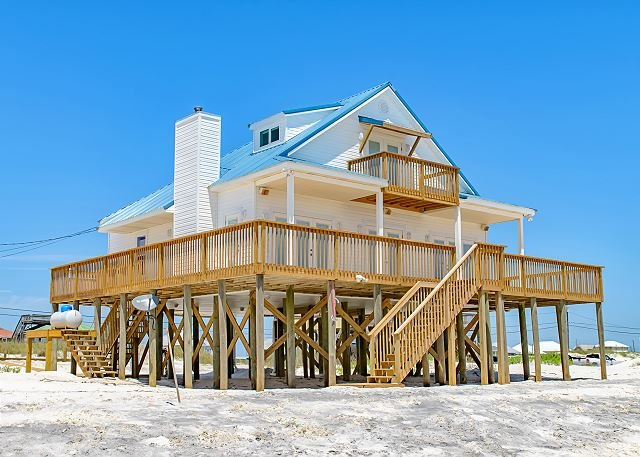 10% Discount Available!! | Newly Refurbished | Huge Deck & Great Views! - Image 1 - Dauphin Island - rentals