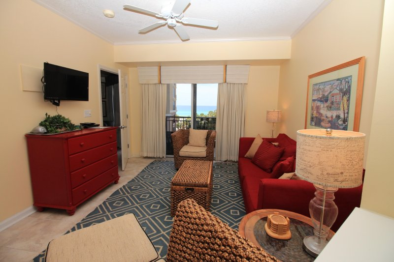 Living room with nice Gulf views - Reduced Rates!!!  5- 2 bedrooms available! - Destin - rentals