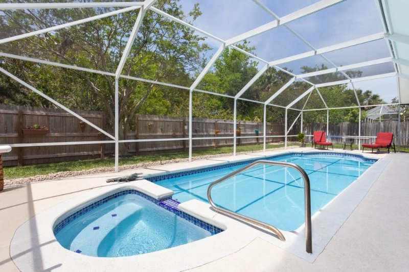 Coquina Dreams, 3 Bedrooms, Private Heated Pool, Pet Friendly, Sleeps 6 - Image 1 - Palm Coast - rentals