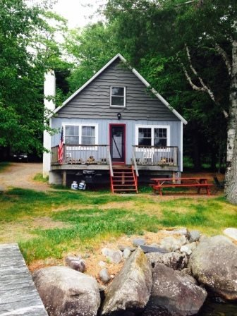 Rustic Cabin on Moosehead Lake - #104 Rustic camp on water`s edge - Greenville - rentals