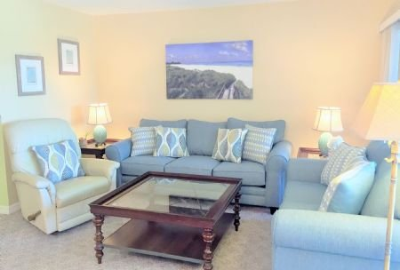 Comfy, Bright Living Area - Firethorn 522 - Siesta Key - rentals