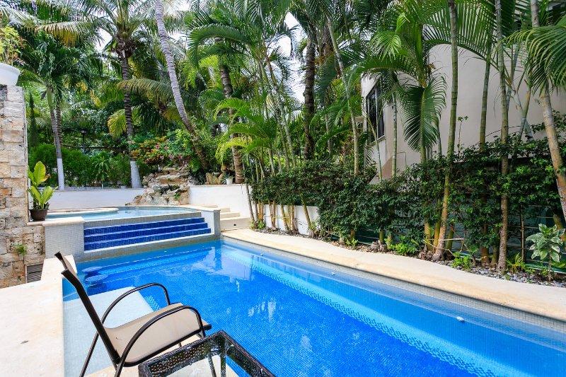 The Pool - VILLA PRIETO #1 Villa in Playacar - Playa del Carmen - rentals