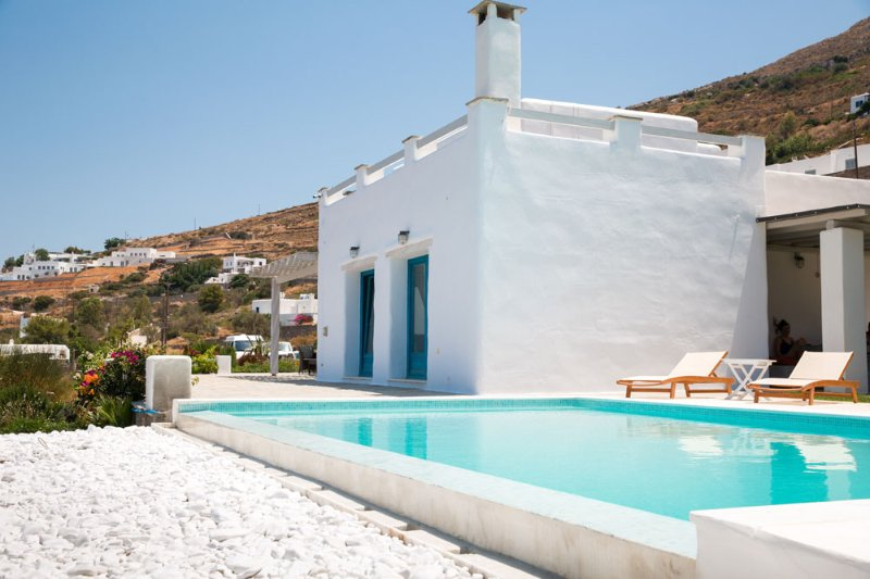 Exclusive 5 br villa with private pool in Paros - Image 1 - Parikia - rentals