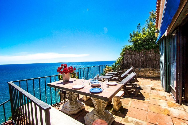 Mamma Mia oceanfront house in Calella for 7 people, on the beaches of Costa Brava! - Image 1 - Calella - rentals