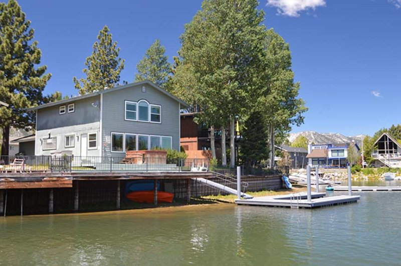 Exterior from Water - 2033 Garmish Court - South Lake Tahoe - rentals