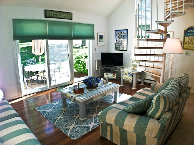 Living area - Ocean Edge - Quiet Area, 2 BR (sleeps 6) with A/C & pool access - BI0429 - Brewster - rentals