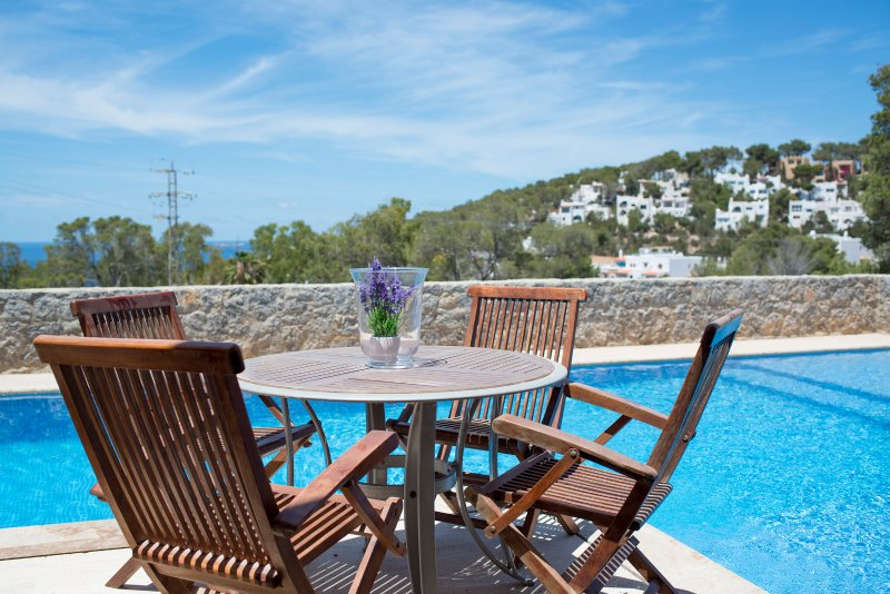 Modern 4 bed house with sea views and private pool - Image 1 - Cala Carbo - rentals