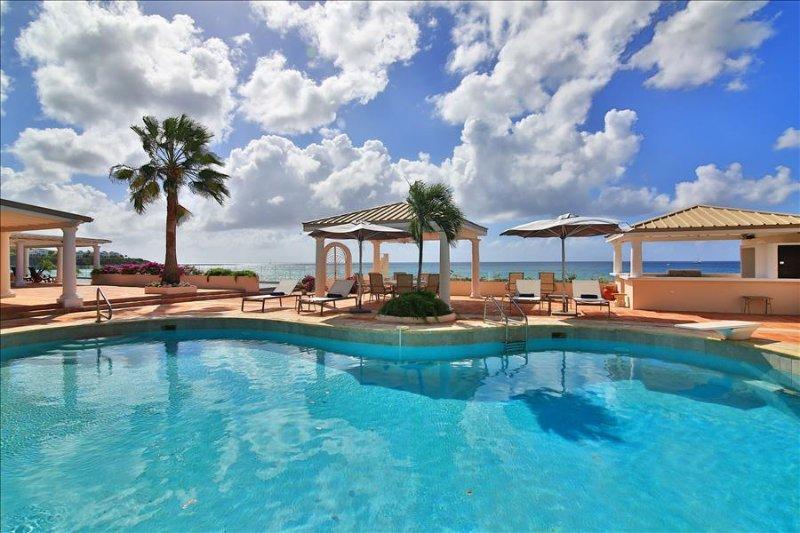 Beachfront 6 bedroom luxury villa - Image 1 - Marigot - rentals