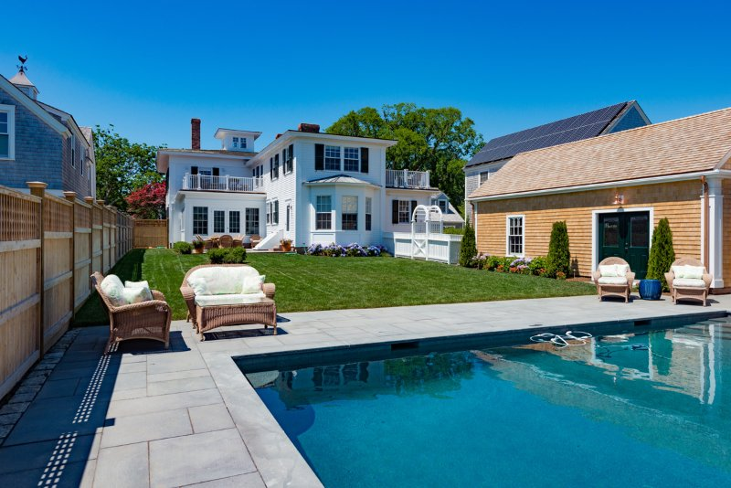 CARLP - Distinctive Luxury All New For Summer 2016, Heated Pool 16 x 32,  Village Center 3 Minute Walk to Main St. - Image 1 - Chappaquiddick - rentals
