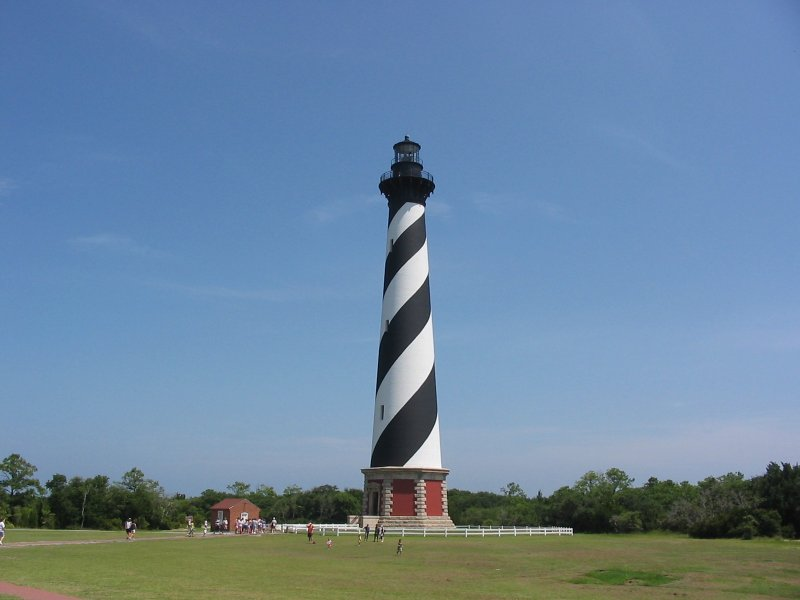 The iconic hatteras lighthouse is 6 miles from the house. - Beach house - Lakefront - 5 min walk to the ocean - Avon - rentals