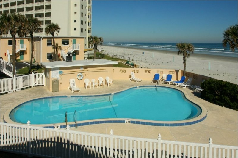 Oceanfront 1 block from Flagler Ave, - Image 1 - New Smyrna Beach - rentals