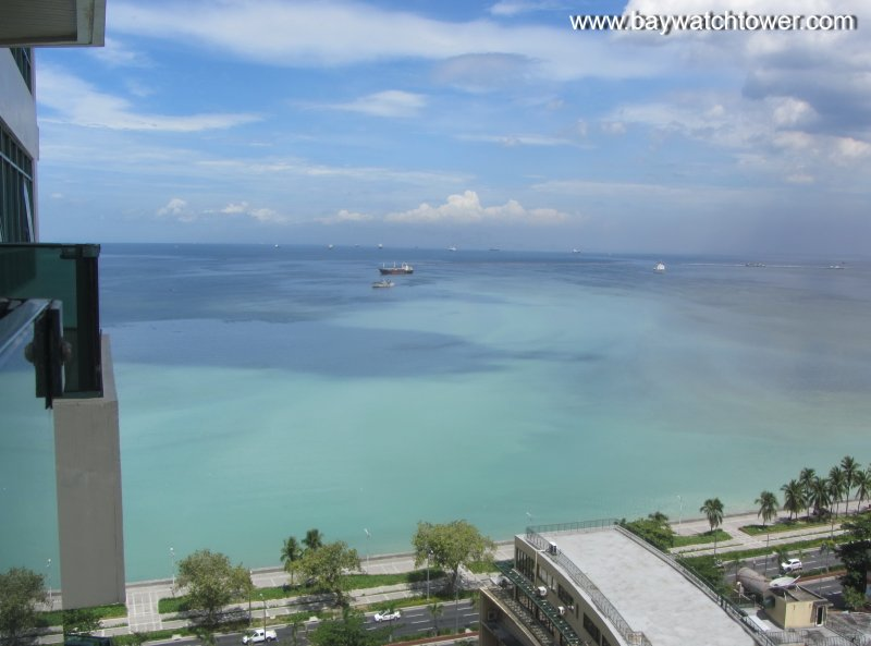 View From Balcony - Baywatch Tower - Excellent view to Manila Bay - Manila - rentals