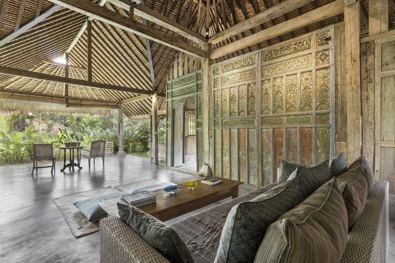Living Room - NYTimes Choice, Architect's Natural, Teak Gem - Ubud - rentals