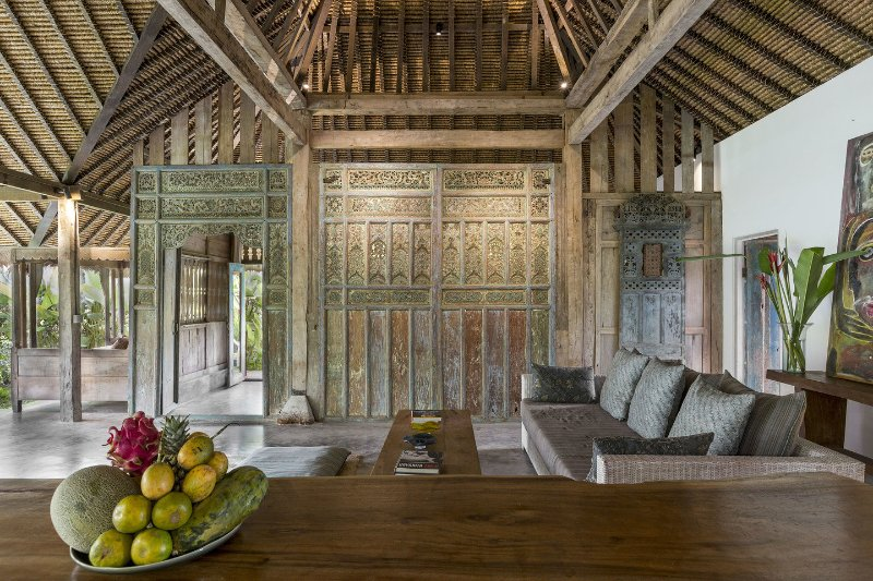 Living Room - NYTimes Choice, Architect's Natural, Teak Gem - Ubud - rentals