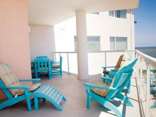 Balcony - Meridian 903W - Ocean City - rentals