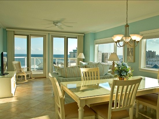 Main Living Area - Meridian 902W - Breathtaking Views! - Ocean City - rentals