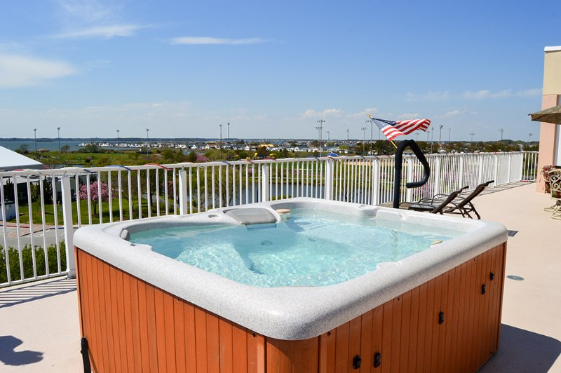 Private Balcony - Lorelei II 402 - Ocean City - rentals