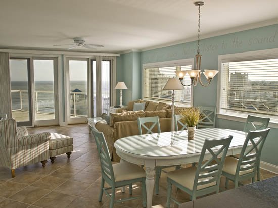 Main Living area - Meridian 901W - Ocean City - rentals