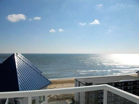 View from Balcony - Meridian 1001W - Ocean City - rentals