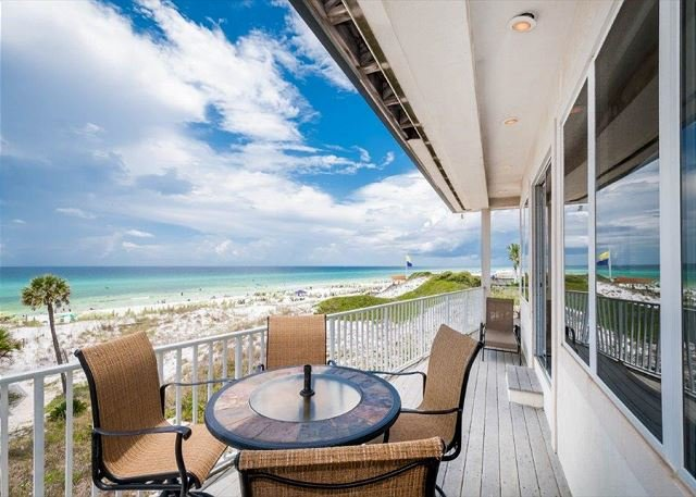Amazing Balcony View - Gulf Pines Delight! ! Gulf Front With Private Pool! FREE Golf & Parasailing! - Sandestin - rentals
