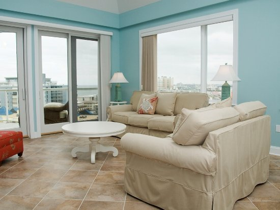 Main Living area - Meridian 1004 W Loft - Ocean City - rentals