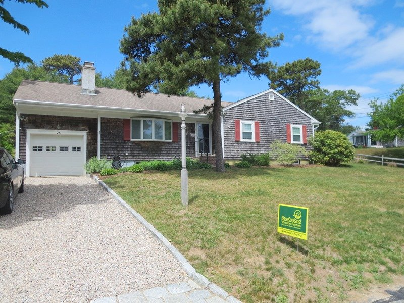 Front of home - 26 Ridgevale Road South Harwich Cape Cod New England Vacation Rentals - 26 Ridgevale Road South Harwich Cape Cod - South Harwich - rentals