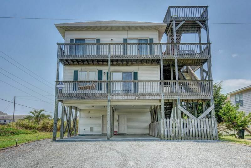 PENLAND - Image 1 - Topsail Beach - rentals
