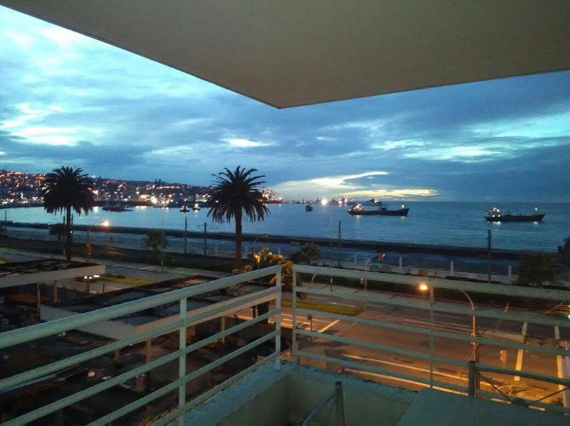 VIEW FROM THE BALCONY  5* FLOOR - Unlimited Pacific Ocean Views - Valparaiso - rentals