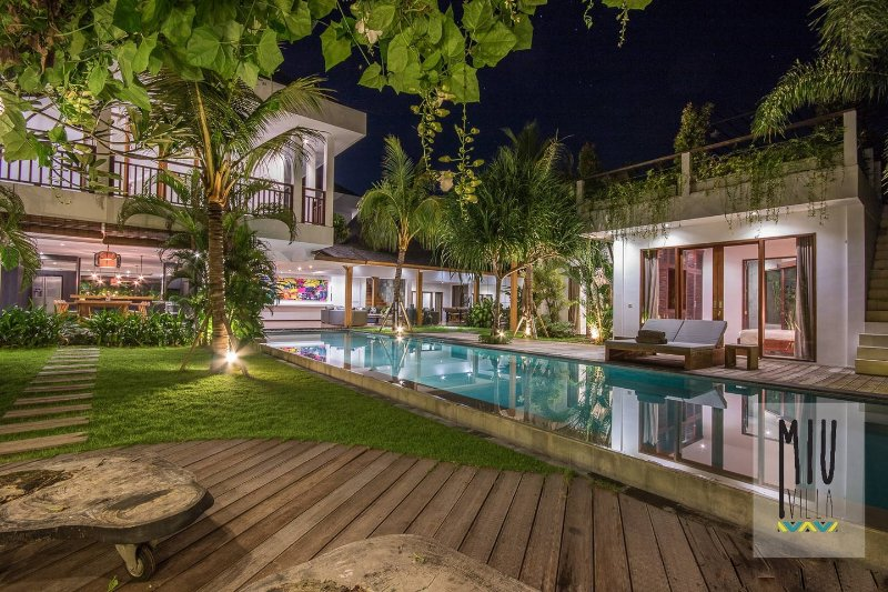 Villa Miu 5br villa riverside in heart of Canggu - Image 1 - Canggu - rentals