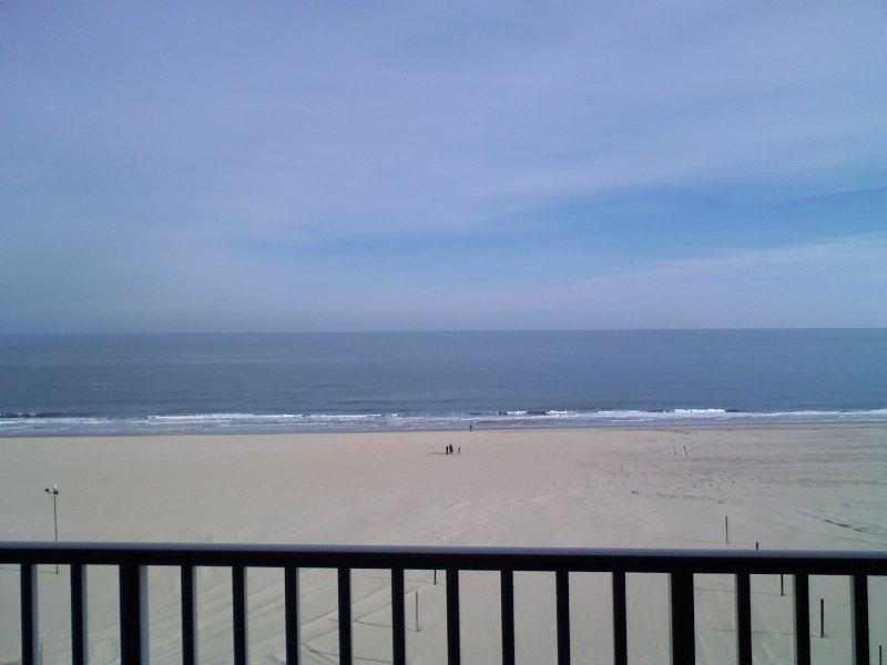 Direct Oceanfront/Boardwalk front view - Beautiful Luxury Oceanfront/Boardwalk Front Condo! - Ocean City - rentals