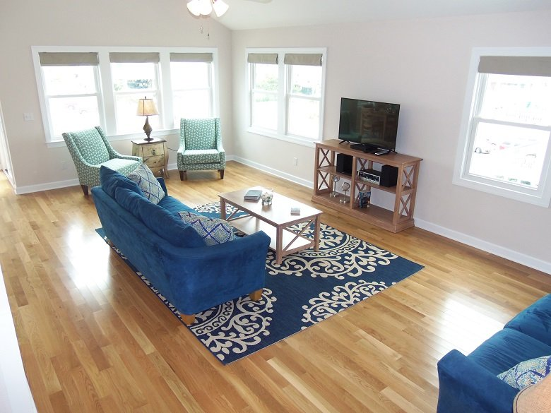 Great Room - New Construction in 2016! Beautifully Furnished, Private Pool, Hot Tub- NH-33 - Nags Head - rentals