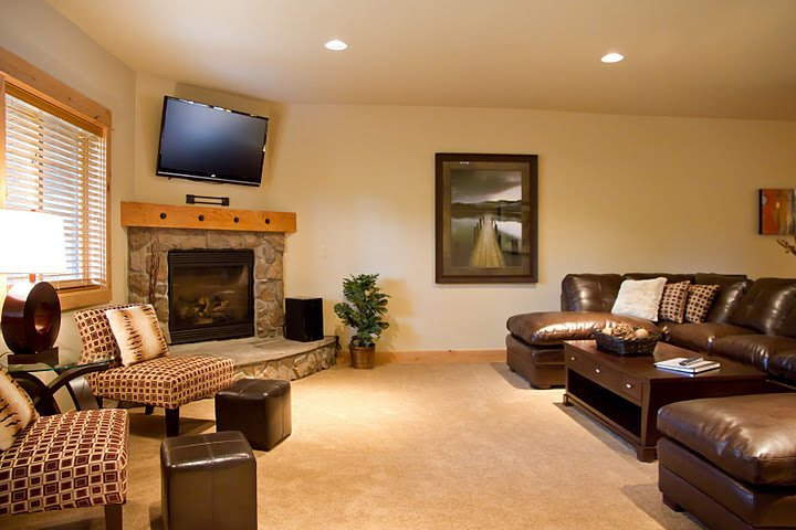 Living Room - Listing 2308869 - Grand Lodge Group Lodging-Summer & Winter Savings! - Government Camp - rentals