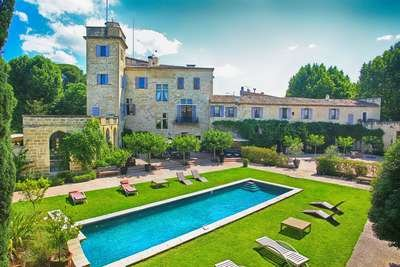 Breathtaking 9 Bedroom Chateau Close to The Sea and Located in Camargue. - Image 1 - Aigues-Mortes - rentals