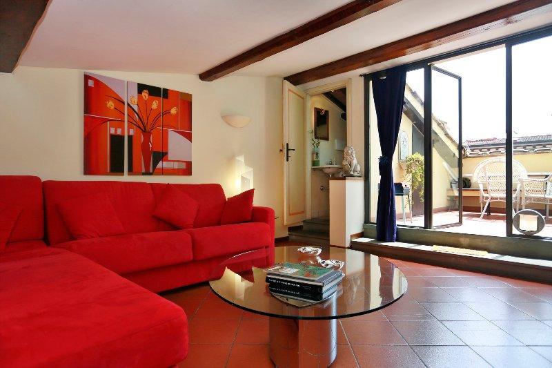 Arte della Lana beautiful terrace - Image 1 - Florence - rentals