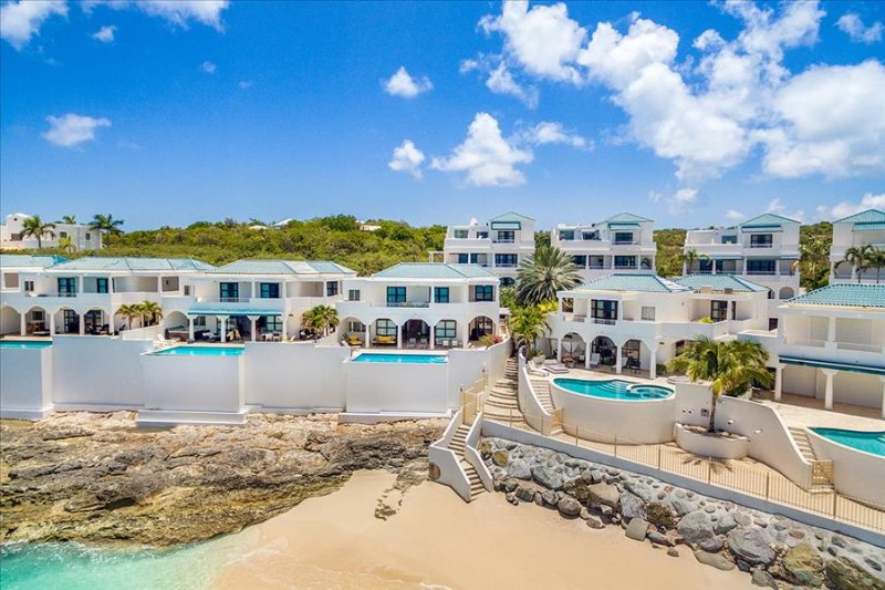 Villa Luna at Shore Point Cupecoy, Saint Maarten - Walk to Beach, Amazing Sunset View - Image 1 - Terres Basses - rentals