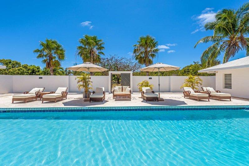 Marine Terrace at Baie Rouge, Saint Maarten - Ocean View, Pool & Privacy - Image 1 - Terres Basses - rentals